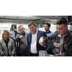 Игорь Зеленкин: в вузе работает образцовая фабрика мирового уровня