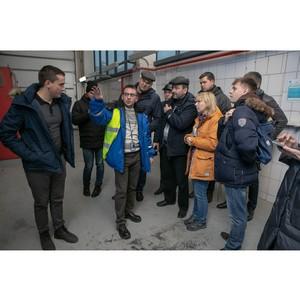 Энергетики изучили систему теплоснабжения завода «Балтики»