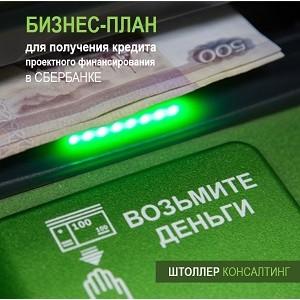 Бизнес-план получения кредита, проектного финансирования в Сбербанке