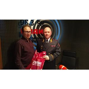 Начальник Росгвардии по Новосибирской области выступил в радиоэфире