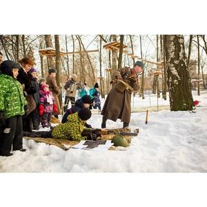 Как в парках Москвы отметят День защитника Отечества