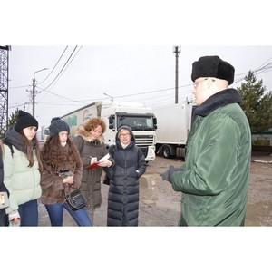 Будущие таможенники посетили Смоленскую таможню