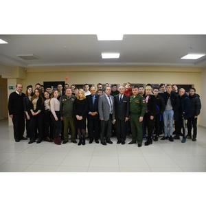 Патриотическая встреча состоялась в Доме дружбы народов Чувашии