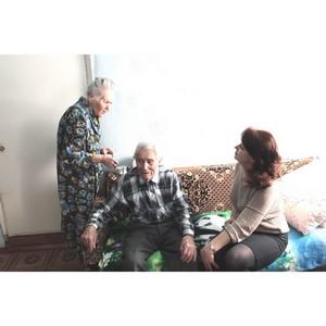 Активисты ОНФ в Мордовии навестили ветерана Второй мировой войны