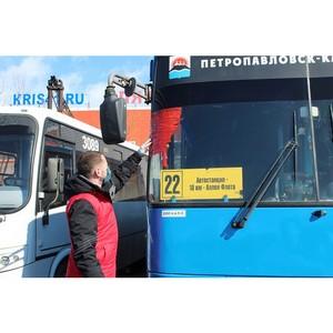 «Молодёжка ОНФ» проверила автобусы Петропавловска-Камчатского