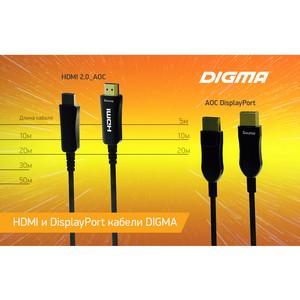 Бренд Digma представил новые кабели стандартов HDMI и DisplayPort