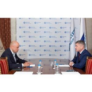 Глава «Россети Центр» и Губернатор Липецкой области провели встречу