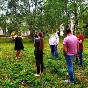 Ставропольская краевая клиническая специализированная психиатрическая больница. Театральная студия для пациентов психбольницы - на свежем воздухе