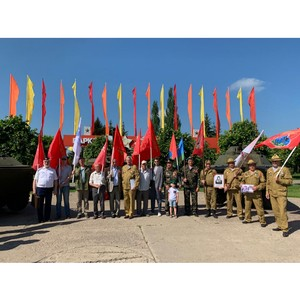 Сотрудники Тамбовэнерго приняли участие в автопробеге «Экипаж Победы»