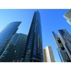 Доля иностранных компаний, занимающих офисы в «Москва-Сити» - 22%