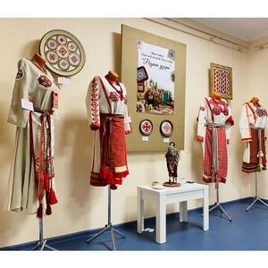 Чувашская кукла и вышивка мастера из Петербурга