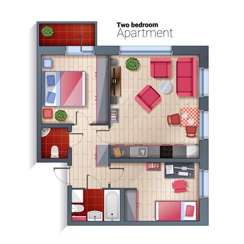 Доля трехкомнатных квартир в массовых новостройках достигла минимума