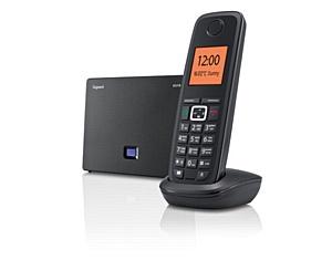 Телефон Gigaset A510 IP с поддержкой фиксированных линий связи и Интернет-телефонии