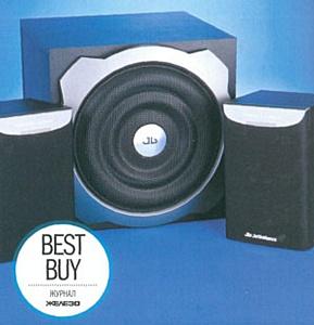 Колонкам Jetbalance JB-454 вручили награду «Best Buy»