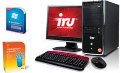 Компьютеры iRU с ПО Microsoft по привлекательной цене