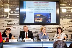 В Петербурге представлен способ  снижения количества ДТП с участием грузового транспорта