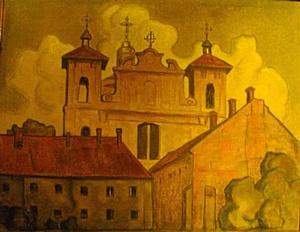 «Страны, люди, города в творчестве художников 1920-х - 1970-х годов» представляет галерея «Веллум» в ЦДХ