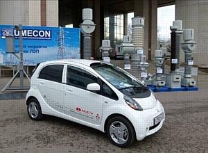 Самый необычный экспонат на 14-й международной выставке «Электрические сети России - 2011»