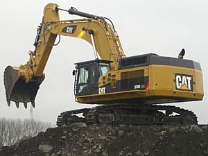 Новый карьерный экскаватор Caterpillar 374D