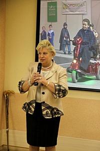 Показ ассортимента технических средств реабилитации и коллекции детской  «особой моды» в Ресурсном центре для инвалидов