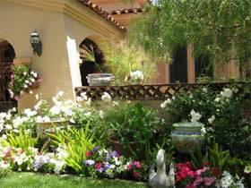 Райские сады в загородных домах
