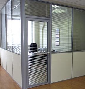 Офисные перегородки для компании «УралСибТрейд»