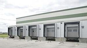 Стальное здание ASTRON для одного из самых современных холодильников в Польше