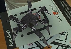 Виртуальный коктейль: AR студия, безмаркерные «живые 3D метки» и Kinect на Autodesk Форуме-2011 от компании EligoVision