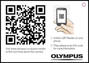 Компания Olympus запустила проект по нанесению QR-кодов на рекламные материалы