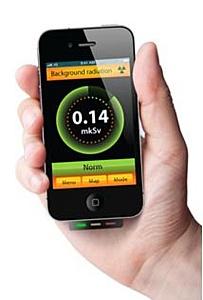Телефон будущего будет измерять радиацию