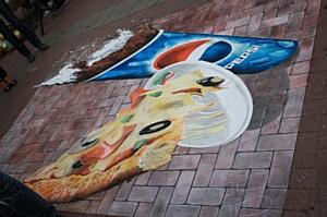 Итоги акции «Пепси+Сбарро футбол 2010» на Арбате