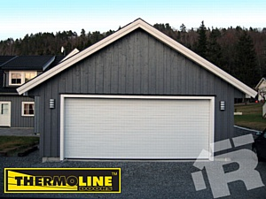 Компания Ритерна расширяет линейку гаражных ворот моделью Thermoline