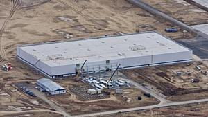 Компания Управление Строительства – 620 производит поставку металлоконструкций для строительства завода PEUGEOT  CITROEN,  в Калужской области