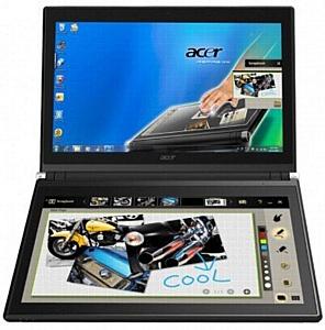 """Acer ICONIA - ноутбук 14"""" с двумя сенсорными экранами"""