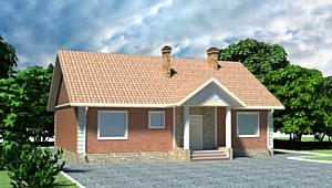 Небольшие коттеджи-ранчо также удобны, как и более просторные – Монтос Дом