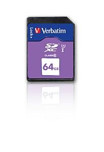 ��� �������� ������������ � �������� � ����� ������ ������ Verbatim SDXC 64 �� class 10