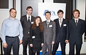 Команда РЭШ первой представит Россию на европейском этапе студенческой программы GIRC 2011