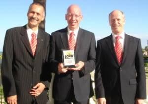 SOLARIS получает ключевую награду в сфере солнечной энергетики