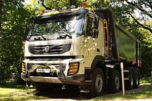 Volvo Trucks, ��� ������� � SSAB ����������� ������������� ����������� ������������� ������ Convex �� ����� Volvo FMX