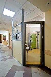 Офисные перегородки в Клинической больнице № 119