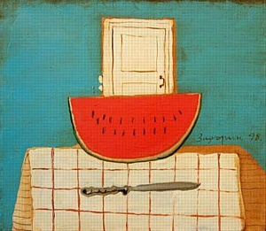 "Паноптикум ""INUTERO"" представляет выставку Александра Задорина –«Летняя новелла»"