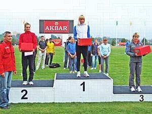 AKBAR – Генеральный спонсор Кубка России по легкой атлетике 2010 года