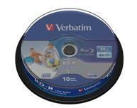 С новыми дисками Blu-ray LTH 6x от Verbatim запись 25 Гб данных высокой четкости занимает меньше 15 минут
