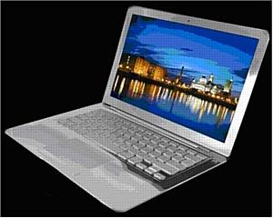 Macbook Air SUPREME ICE Edition - белое золото, бриллианты и торжество льда