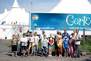 «Кронштадт» устроил праздник для детей в Cirque du Soleil