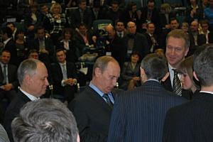 В.В.Путин сказал нам – «Задача Правительства... создавать вам необходимые условия для эффективной работы»