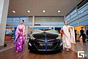Hyundai Elantra пятого поколения презентовали в Краснодаре при поддержке компании «Кубань-вино»