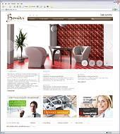 Web.Techart опубликован сайт компании Bonita Casa