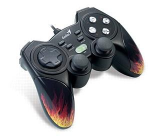 Пламенный геймпад для жарких баталий Genius MaxFire Blaze 3