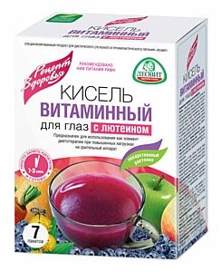 «ЛЕОВИТ нутрио»: Кисель «Витаминный для глаз» улучшен лютеином